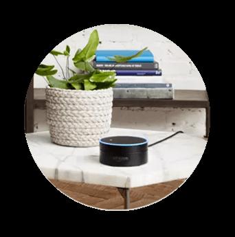 DISH Hands Free TV - Control Your TV with Amazon Alexa - St. Louis, Missouri - Digital Blue - DISH Authorized Retailer